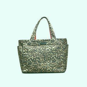 Kenneth Cole Stanton Reversible Tote Leopard NWT